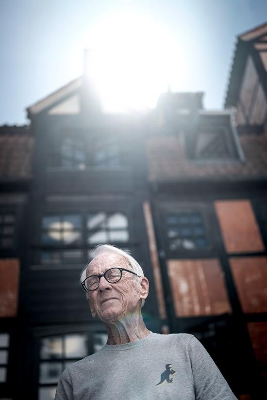 Portræt af Bent-Fabricius-Bjerre